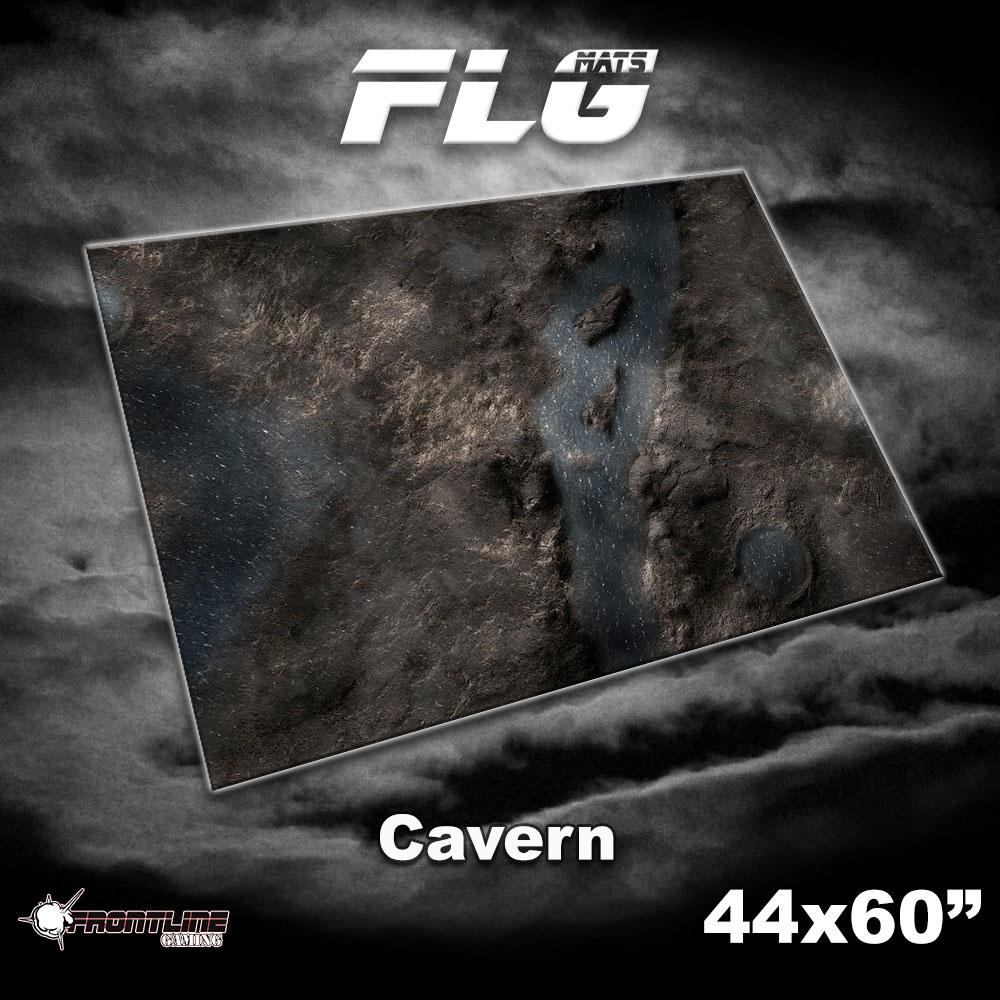 FLG Gaming Mat: Cavern - 44 x 60