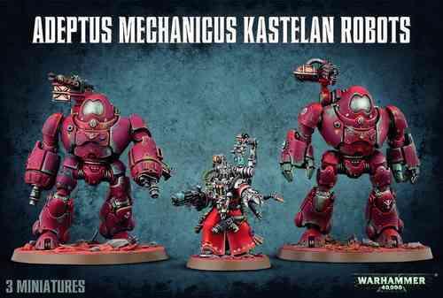 Adeptus Mechanicus Kastelan Robots 59-16