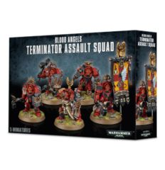 Blood Angels Terminator Assault Squad - WEB ONLY