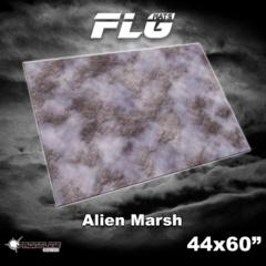 FLG Gaming Mat: Alien Marsh 44 x 60