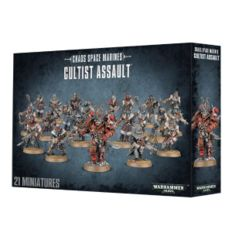 Chaos Space Marines Cultist Assault-NO LONGER AVAILABLE