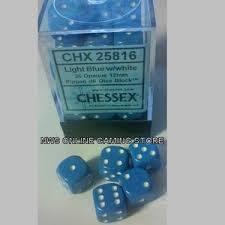 CHX25816 Opaque Light Blue w/white