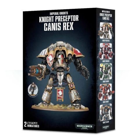 Imperial Knights: Knight Preceptor Canis Rex 54-15