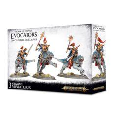 Stormcast Eternals Evocators on Celestial Dracolin 96-41
