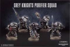 Grey Knights Purifier Squad-NO LONGER AVAILABLE