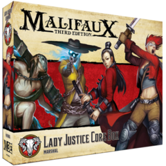 Malifaux 3rd Edition: Guild Lady Justice Core Box 23104