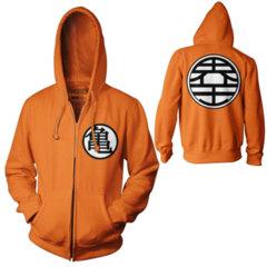 DBZ KingKai's kanji jacket
