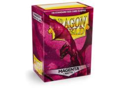 Dragon Shield Box of 100 Matte Magenta 11026