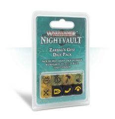 WH Underworlds: Nightvault Zarbag's Gitz Dice Set 110-43