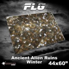 FLG Gaming Mat: Ancient Alien Ruins Winter 44 x 60