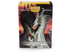 Dragon Shield Box of 100 in Art Classic Valentine Dragons