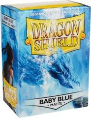 Dragon Shield Box of 100 in Matte Baby Blue