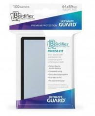 ULTIMATE GUARD - Bordifies Precise-Fit Sleeves Standard Size Black  (100)