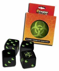Legion - DICE TIN - Biohazard D6