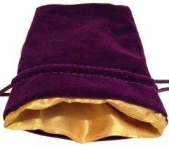 MDG Purple w/Gold Dice Bag