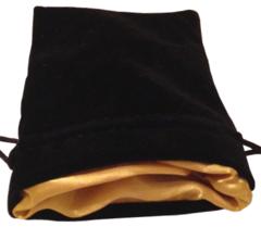 MDG Black w/Gold Dice Bag