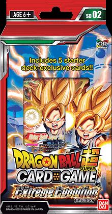 Dragon Ball Super: Series 2 Extreme Evolution Starter