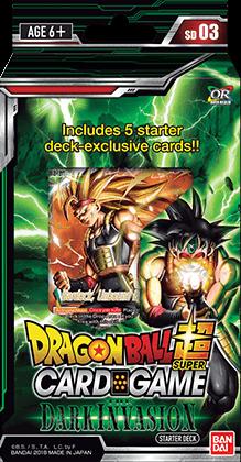 Dragon Ball Super: Series 3 Dark Invasion Starter