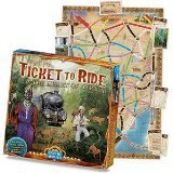 Ticket to Ride: Volume 3, El Corazon De Africa