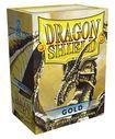 Dragon Shield Sleeves: Gold (Box of 100)