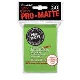 Ultra Pro Pro-Matte Standard Deck Protectors: Light Green (50)
