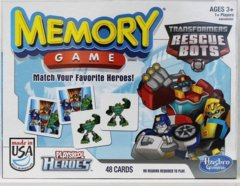 Memory Game: Transformers Rescue Bots