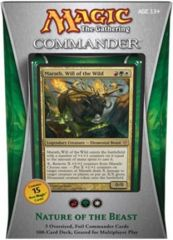 Commander 2013 Sealed Deck: Nature of the Beast (W/R/G)