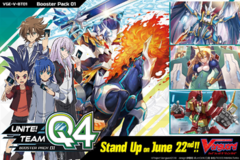 Cardfight Vanguard Q4 (Unite Team/VGE-V-BT01) Booster Pack