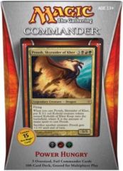 Commander 2013 Sealed Deck: Power Hungry (B/R/G)
