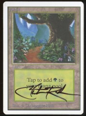Signed Forest Unlimited _99