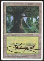Signed Forest 4th _87
