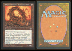 Signed German Phyrexian Dreadnought  _3991