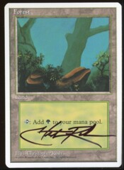 Signed Forest 4th _86
