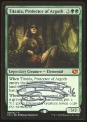 Signed Titania, Protector of Argoth _365
