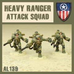 AL140 HEAVY RANGER TANK HUNTER SQUAD
