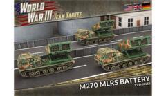 TUBX25 M270 MLRS Rocket Launcher Battery (Plastic)