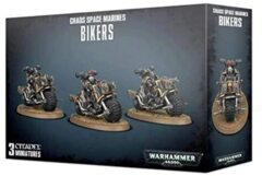 (43-08) Chaos Space Marine Bikers