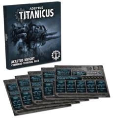 (400-31-60)  Adeptus Titanicus: Acastus Knight Command Terminal Pack