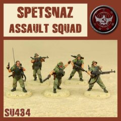 SU434  SPETSNAZ  ASSAULT  SQUAD