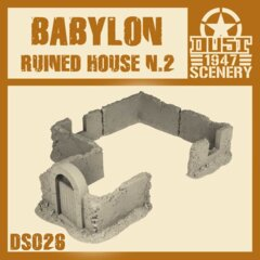 DS026   BABYLON  RUINED  HOUSE 2