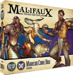 WYR23301 Malifaux 3E: Arcanists/Neverborn - Marcus Core