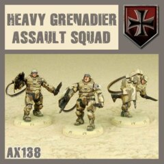 AX138  HEAVY GRENADIER ASSAULT SQUAD