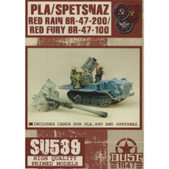 SU539 Dust 1947: SSU - PLA Spetsnaz / Red Rain / Red Fury