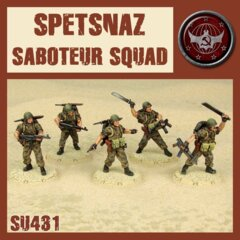 SU431  SPETSNAZ SABOTUER SQUAD