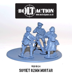 Soviet - 82mm Mortar