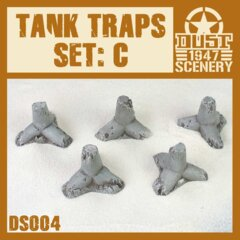 DS004   ANTI  TANK  TRAPS SET C