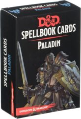GFN5664 Dungeons & Dragons - Spellbook Cards: Paladin (69 cards)