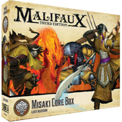 WYR23704 Malifaux 3E: Ten Thunders - Misaki Core Box