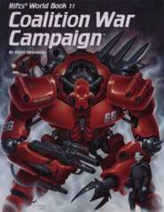 PAL821 Rifts® World Book 11: Coalition War Campaign™
