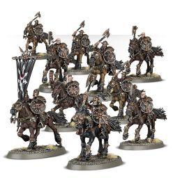 (83-08) Warriors of Chaos Marauder Horsemen